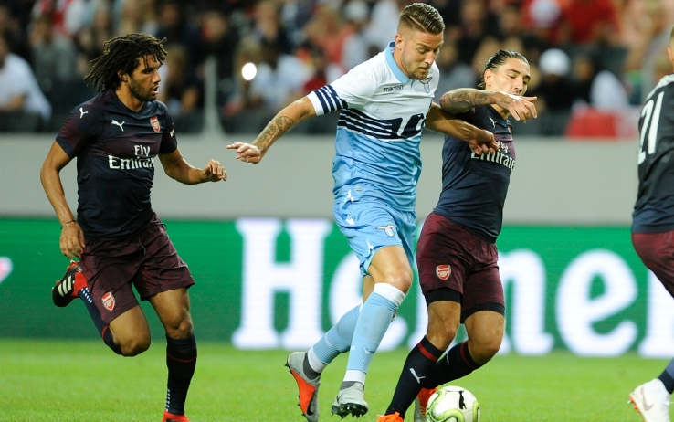 1533487871 Sky Serie A i risultati delle amichevoli del 4 agosto Lazio ko con lArsenal male Chievo e Genoa