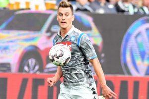 1534016223 Sky Wolfsburg Napoli 3 1 gli azzurri trovano il gol con Milik. Doppietta di Mehmedi