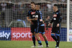 Napoli Milik Ancelotti Devo solo dirgli grazie Serie A