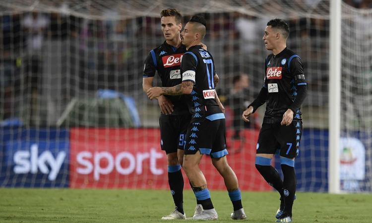 Diretta Lazio-Napoli, probabili formazioni: dove vederla in tv