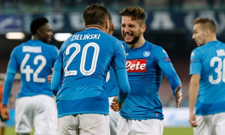 Napoli-Wolfsburg test per Zielinski e Mertens | Mercato