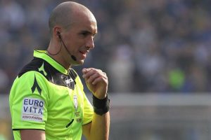 Arbitri Serie A: Napoli-Fiorentina a Fabbri, Chiffi per Juve-Sassuolo. Ecco tutte le designazioni
