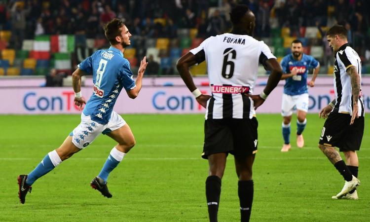 Napoli, Fabian Ruiz: Contento per il gol