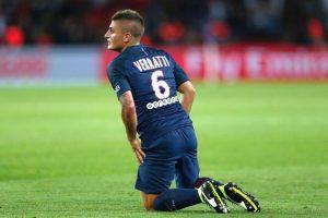 PSG: infortunio alla coscia per Verratti, salta il Napoli?