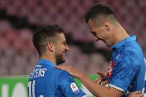 1547905801 Milik e Mertens contro la Lazio