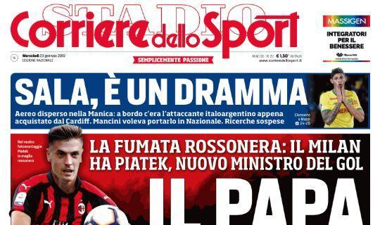 1548231331 Il Corriere dello Sport sul Napoli quotSorpresa Fornals. E039 l039erede di Allanquot