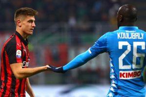 Milan-Napoli 0-0: il tabellino