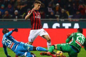 Milan-Napoli: Piatek dal 1', torna Allan