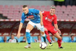 Diretta Fiorentina Napoli ore 18 probabili formazioni e dove vederla in tv