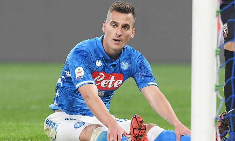 Notizie Napoli Napoli, posticipato il rientro di Milik: la motivazione | Serie A