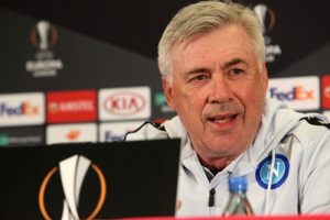 1552662656 Europa League Napoli Ancelotti «Arsenal Difficile ma affascinante»