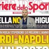 1562280858 PRIMA PAGINA CdS quotIcardi il Napoli ci prova con un mega stipendio sul piatto 10 mln all039annoquot