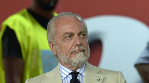 De Laurentiis: Ho fatto richiesta alla Lega di giocare le prime in trasferta, ecco perchè...