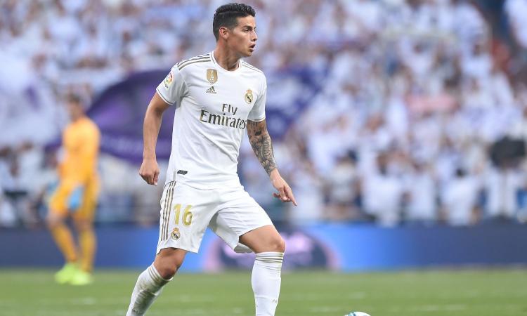 Real Madrid, lesione al polpaccio per James: sfuma definitivamente l'ipotesi Napoli?