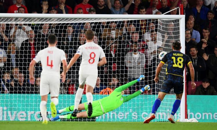 Notizie Napoli Muriqi gol contro l'Inghilterra: lo vogliono tre italiane | Mercato