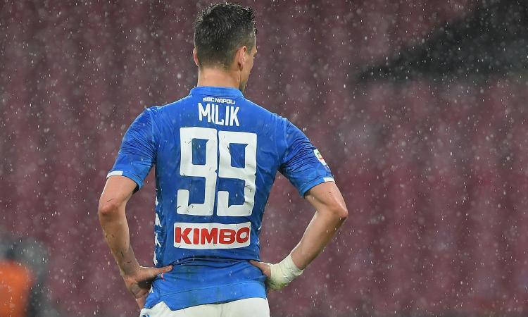 Napoli, Milik diventa un mistero