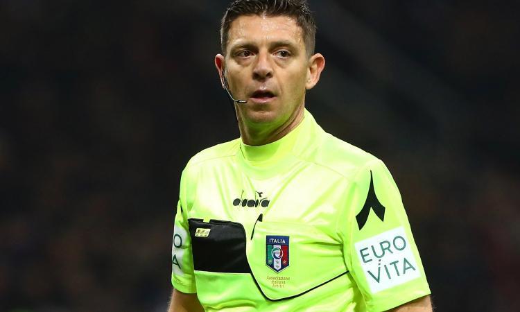 Arbitri Serie A: Inter-Juve a Rocchi, Mariani per il Milan. Le designazioni