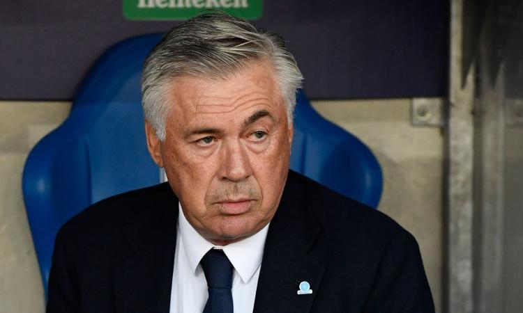 Napoli, Ancelotti: 'Imprecisi e sfortunati sotto porta. Insigne? L'ho visto poco brillante in allenamento'