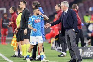 Napoli, Ancelotti spiega a Raiola l'esclusione di Insigne a Genk