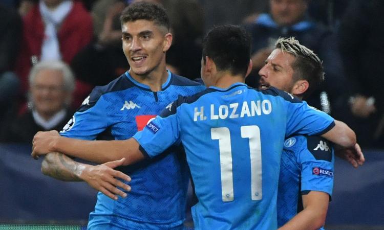 Napoli, De Laurentiis difende Lozano