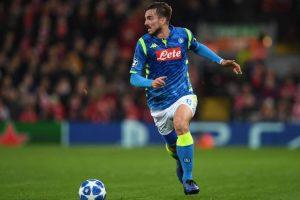 Napoli: Fabian Ruiz ha la faringite, a rischio il match con la Spagna