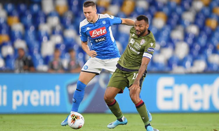 Napoli, Zielinski: 'Champions? Vogliamo arrivare primi nel girone'