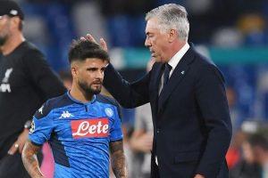 Napoli: prove di pace tra Insigne e Ancelotti
