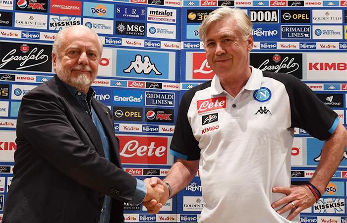 Napoli, rapporti tesi tra ADL ed Ancelotti: il tecnico ripensa al Milan...
