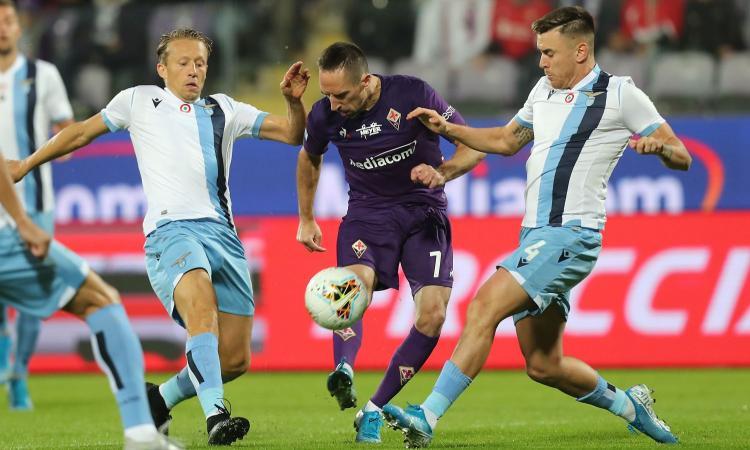 Ribery e i grandi vecchi meglio di Milinkovic e i giovani... medi