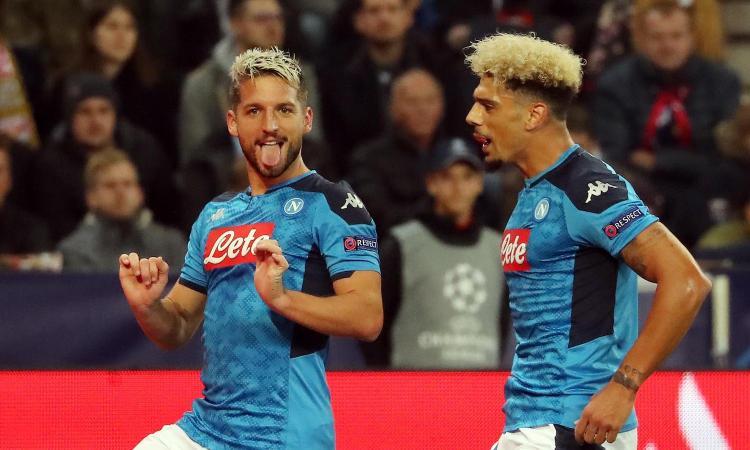 Salisburgo-Napoli 2-3: il tabellino