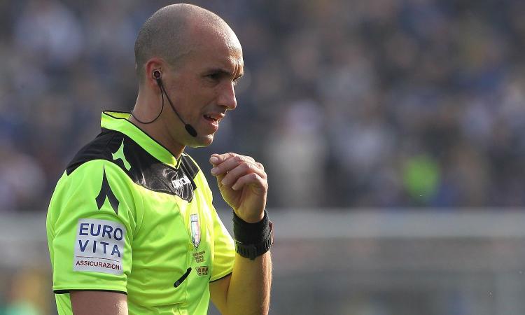 Serie A, le designazioni arbitrali: Fabbri per Brescia-Inter, a Giua Juve-Genoa. Napoli-Atalanta a Giacomelli