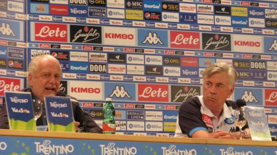 Napoli News Napoli De Laurentiis pizzica Ancelotti su risultati tattica e Insigne