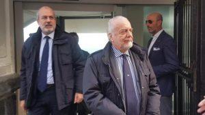Napoli News Napoli De Laurentiis quotInfortunio Malcuit Non torneremo sul mercatoquot