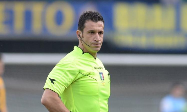 Arbitri: fermati Irrati e Giacomelli. Rocchi per Roma-Napoli, il derby Torino-Juve a Doveri. Le designazioni