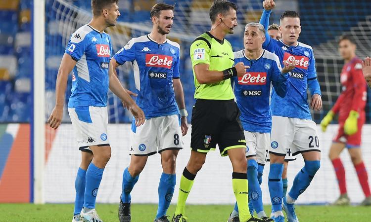 Bufera Napoli-Atalanta, il caso finisce in Parlamento: presentata interrogazione al ministro dello Sport