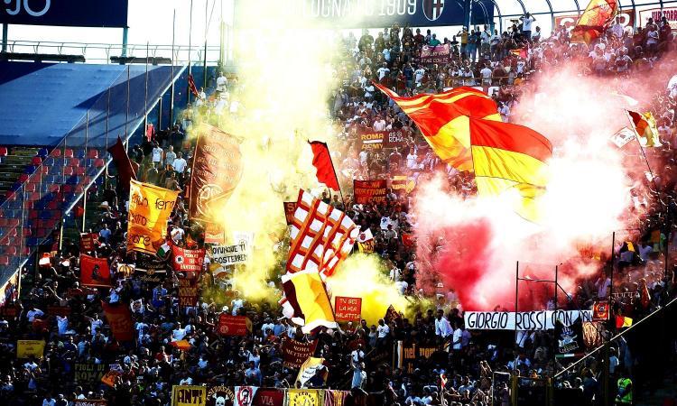 Roma, Curva Sud a rischio chiusura per i cori contro Napoli