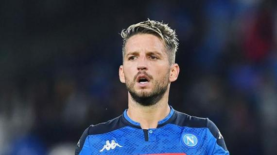 Napoli News Inter Mertens per ora solo unidea Intanto il belga dice no alla Cina