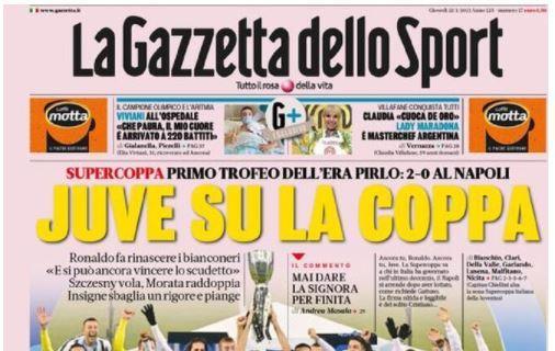 Le principali aperture dei quotidiani italiani e stranieri di giovedì 21 gennaio 2021