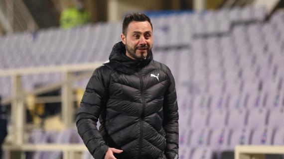 """De Zerbi: """"Questa Juve è diversa e mi piace ma il Sassuolo non si nasconde. Berardi out"""""""