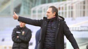 """Fiorentina, Vlahovic ancora in gol. Prandelli: """"Gli ho detto che non si deve mai accontentare"""""""