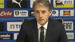 """Mancini: """"Pensavo fosse l'anno del Napoli. Insigne unico, è il meno sostituibile per l'Italia"""""""
