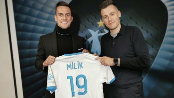 """Marsiglia, Milik: """"Orgoglioso di essere in uno dei club più prestigiosi d'Europa"""""""