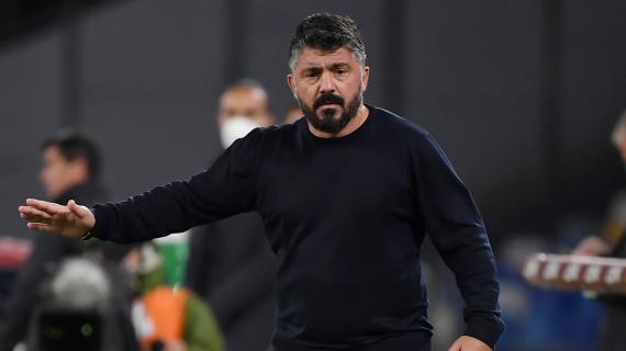 Napoli, Gattuso duro con la squadra dopo il ko interno contro lo Spezia