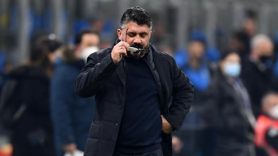 """Napoli, Gattuso: """"Siamo stati bravi e fortunati, dobbiamo dare più continuità"""""""