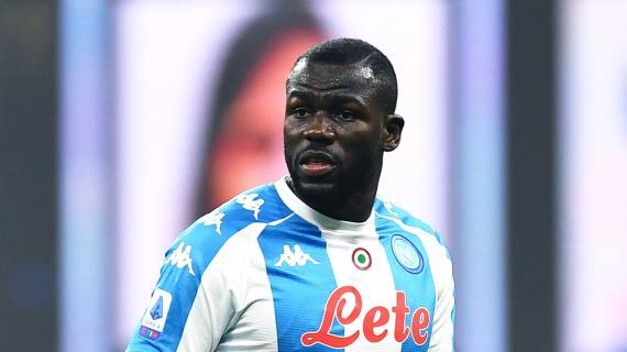 """Napoli, Koulibaly: """"Il peso della sconfitta dura poco. È più forte la voglia di tornare a lottare"""""""