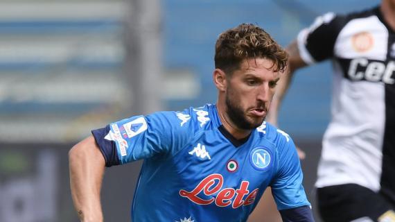 Napoli, il piano è riavere Mertens al top per la Supercoppa. In campo già con l'Empoli