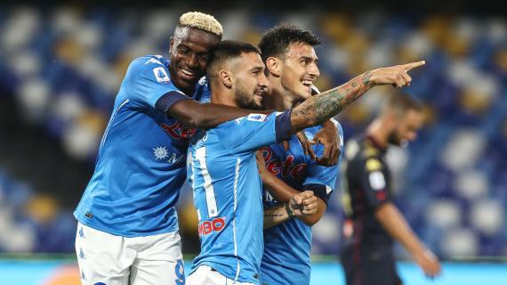 Napoli, tutti negativi i tamponi effettuati nella notte. Con la Fiorentina si gioca alle 12.30