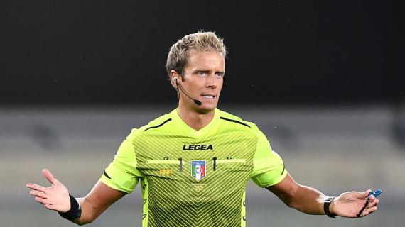 Serie A, designazioni arbitrali: Samp-Juve a Fabbri. Chiffi per Atalanta-Lazio