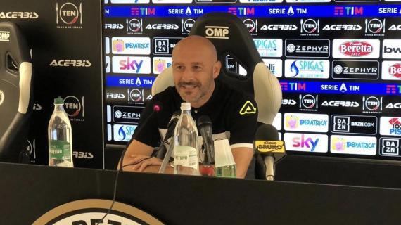 """Spezia, Italiano: """"Difficile preparare la partita in un giorno. Saponara? A disposizione"""""""