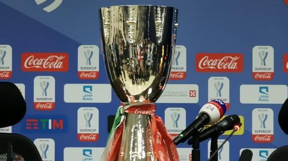 Stasera la Supercoppa. L'albo d'oro: Juventus prima con 8 trofei, Napoli fermo a 2